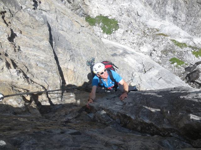 Klettersteig Tabaretta : Tabaretta klettersteig ortler youtube